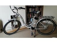Electric Bicycle - Cyclamatic GTE Step-Through Electric Bike