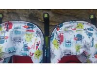Cosatto double stroller/Pushchair good condition. Collection from LINGDALE ASAP.