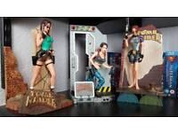 Vintage Lara croft tomb raider figures