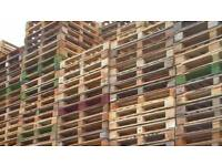 Heavyweight standard wooden pallets 1200 x 1000 free delivery locally