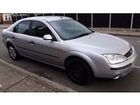 2002 Ford Mondeo 1.8 LX 5dr with MOT ***SPARES OR REPAIRS ONLY***CAR STILL RUNS FINE