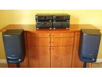 Technics CD stereo system