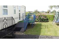 caravan hire mablethorpe with fishing & golf on site 4 lakes peaceful position .restaurant /bar
