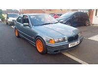 BMW e36 318ti Compact with m52 2.5 running gear, M50 inlet, Drift mods