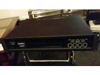 qsc cx404 cx 404 4 ch channel amp amplifier vgc