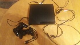PS3 console 250GB and 2 controllers and 11 games in excellent condition £100 ono