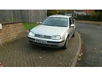 Volkswagen Golf 1.9TDI automatic 12 month mot