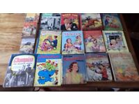 16 Vintage Books For Children, 1940's, 50's and 60's