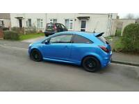 25TH ANNIVERSARY EDITION VAUXHALL CORSA VXR PRIVATE PLATE NEW MOT STAGE 3 REMMAPED THE 220BHP