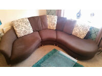 DFS Corner Fabric sofa - MUST SEE - REDUCED IN PRICE