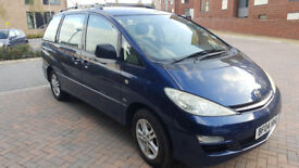 2004 TOYOTA PREVIA 2.0 Diesel, MOT Until 15. Feb. 2019,, 11 stamps, NEW CAMBELT, ONLY 2 OWNERS!!!