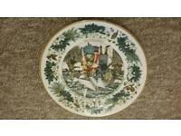 Collection of Royal Daulton vintage plates