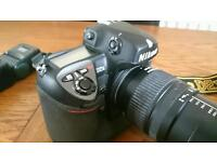 NIKON D2X PROFESSIONAL SLR with accessories!!!
