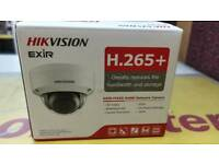 Brand new Hikvision H.265+ network camera.