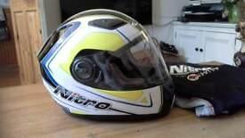 Childs nitro full face motorcycle helmet size 49-50