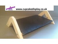 Slate Board Food Serving Tray Platter Cake Stand wedding, birthday party etc.