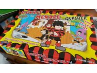 3 board games Dennis the Menace, ad mad, trivial pursuit