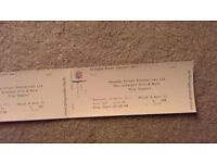 10cc concert tickets x2 Wednesday 29th March 2017 - £70