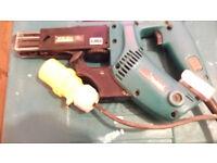 110 V Makita autofeed screwgun FOR SPARES OR REPAIR