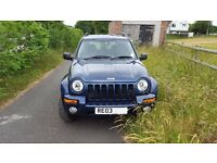 JEEP CHEROKEE LIMITED CRD Auto 2003 (Bought from a friend who had from new) Fantastic Condition