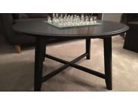 Black Coffee Table- Barely Used