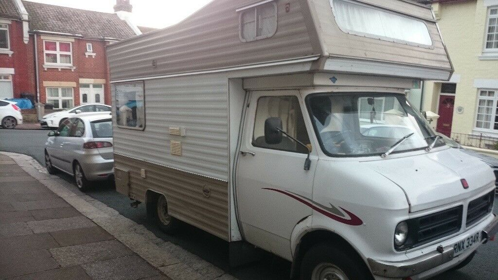 Bedford CF 1976 4 Berth Petrol 2279cc MOT June 2018 Tax Exempt