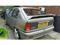 VAUXHALL ASTRA GTE REP