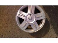 "15"" single Renault Clio Sport alloy wheel (470)"