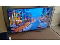 SAMSUNG UE55KU6020 55 Inch Series 6 Ultra HD 4K Smart LED TV Wi-Fi & Freeview HD - Silver