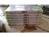 FIFA 2010 - 2016 (Except FIFA 11) XBOX 360 games