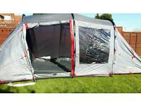 4 man tent with spacious living area New- unused