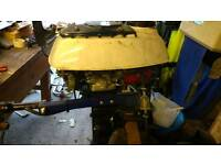 Yamaha 3.5 hp outboard motor engine spares or repairs boat