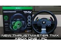 Thrustmaster tmx wheel force feedback brand new boxed RECEIPT 2DAYS OLD