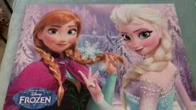 2 large frozen pictures