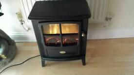 Dimplex fire heater