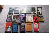 Job lot of 20 Books