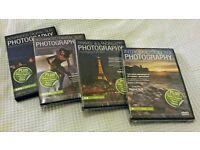 ***Karl Taylor Advanced Digital SLR Photography 4x DVD Course (BRAND NEW)***