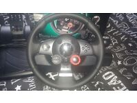 Force GT Steering Wheel and Pedals (For PS2 PS3 PC) gaming PC
