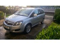 Vauxhall Zafira 1.8 exclusive petrol/LPG(autogas conversion)