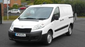 2015 PEUGEOT EXPERT HDI PROFESSIONAL. ONLY 31000 MILES. 3 SEATS. 2 SIDE DOORS. AIRCON. PLY LINED ETC