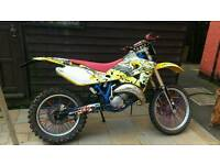 Husqvarna wre 125 roadleagal 04 moted 1300 ono