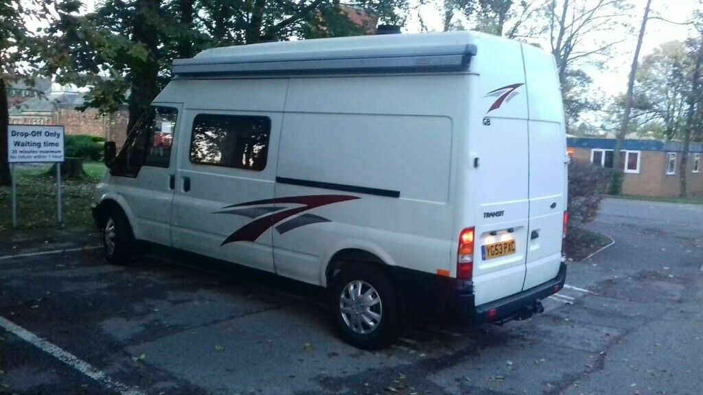 8020a8f6269764 Ford transit campervan