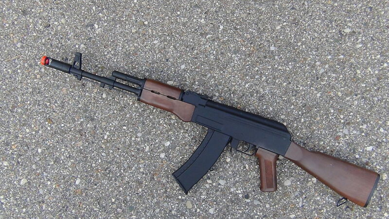 Well D47 Ak47 Full Automatic Electric Airsoft Gun Upgraded