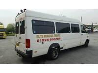 Minibus hire in Leeds West Yorkshire 0113 3223087