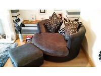 suite for sale, 3 seater and love seat with chaise longue