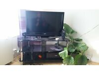 """32"""" SANYO TV and TV Table"""