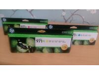 HP Officejet 971xl printer cartridges
