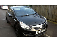 Vauxhall Corsa Sxi, 1.2 petrol, 2007, 3 door hatchback in black, 79,000 miles and 10 months MOT!!