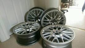 """Audi Alloys. 5X100 18""""x8"""""""