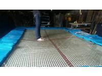 School standard trampoline